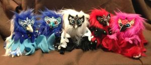 Gryphonette Poofs for sale by omfgitsbutter