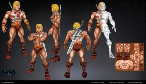 He-man2 by Dean-Irvine