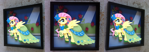 Commission: Gala Fluttershy (2nd build) by The-Paper-Pony
