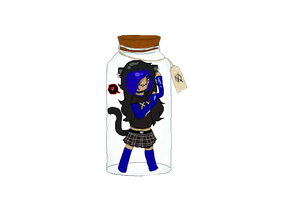Z.G in a jar by EmoCatT3T