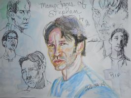 Manny Faces of Stephen by fbforbill