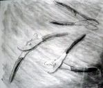 Pliers in Charcoal by Shengirl