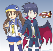 Disgaea 4 by jasonthenitro