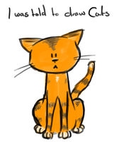 I was told to draw cats by DonKrow