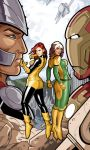 jean grey rogue2 by RisQ55