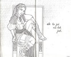 Skyrim character full size 2 by Lorrain