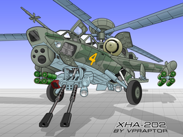 Helicopter XHA-202 colored by vpRaptor