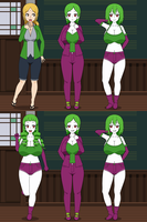 Jokerized Before and After Tsunade by Firingwall