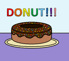 Donut!!! by AnOptimisticSnarker