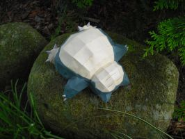 Snorlax papercraft by TimBauer92