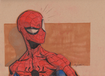 Spiderman Headsketch by joverine