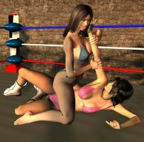 women wrestling 19 by cattle6
