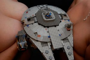 Millennium Falcon-Ion Cannons by Brainclaw