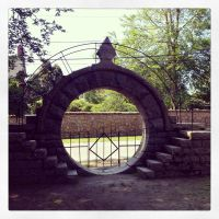 The Moon Gate - Square by wiebkefesch