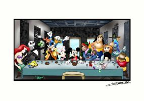 Last Supper by fantasination