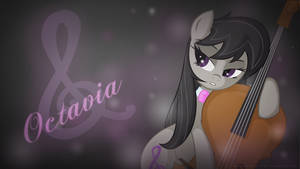 Octavia Wallpaper by Chiramii-chan