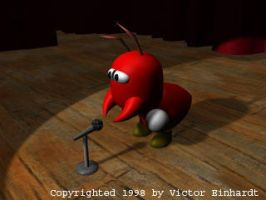 Red Ant in the Spotlight by tybee