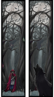 Red Riding Hood Bookmark by Maylar