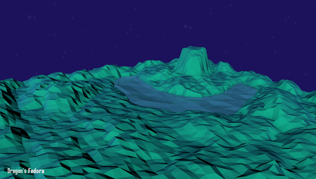 Low Poly Landscape by TechDragonSoft