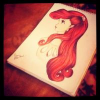 The Little Mermaid - Ariel by Midnight-Rainstorm