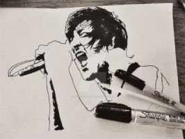 mitch lucker by peacmaker101