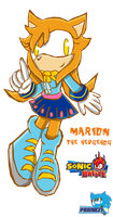 :AT: marion TH in sonic battle by Ferni21