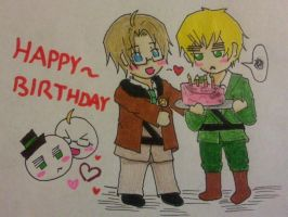 USUK: Happy Birthday Alpha-1-69! by JazminKitsuragi
