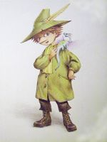 Snufkin 1-st drawing by akrawczyk83