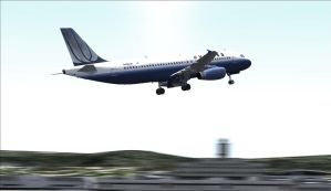 United A320 by Boeing787