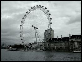 The London Eye by BarbaraTheKID