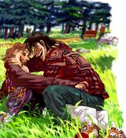 {KAIJI} noon by llllle