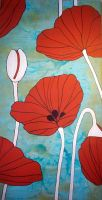 Papaver by bluforest