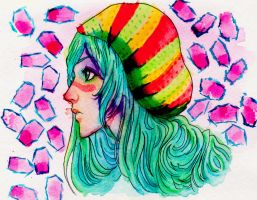 Nel watercolor practice by Art-Gem