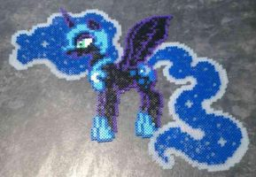 My Little Pony Nightmare Moon Hama by Hamamia