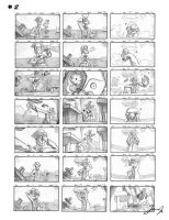 Storyboard panels 2 by JasonIp