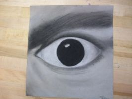Charcoal Eye by zaraki117