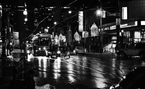 A rainy night in January. by mitch-meister