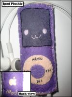 Ipod plushie by Tammyyy