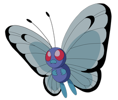 Butterfree by Caridea