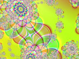 fractal flowers for Franchesca by DarkRiderDLMC