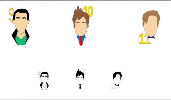Doctor Who Pictograms by skittles1313