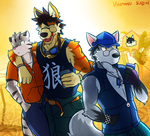 walking around. by Vent-Kazemaru