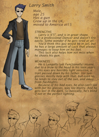 LAST STAND OCT. Larry Profile by Maiden-Chynna