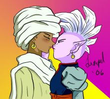 Shadi + Supreme Kai by limpet666