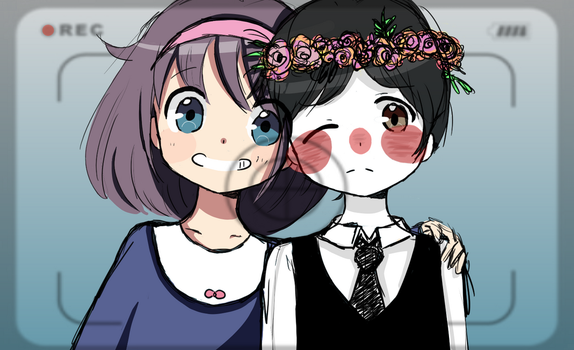 Yuka and Lucius ~ Request by PuellaMagicaGal666