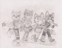 Star Fox Adventures AND Dinosaur Planet by Agentwolfman626