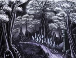 Crystal Forest by xpe