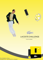 Lacoste challenge advertising by Newfelhdd