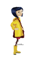 Speedpaint: Coraline by IsidithRose