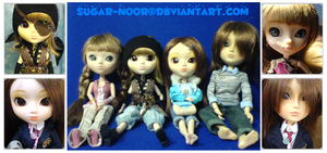 Pullip Family Frame Colour by sugar-noor